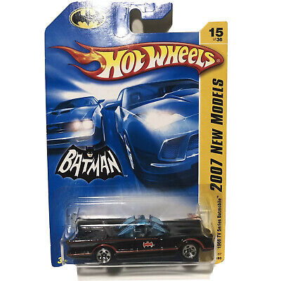 Batman 1966 TV Series Batmobile 15/36 Hot Wheels 2007 New Models 1:64
