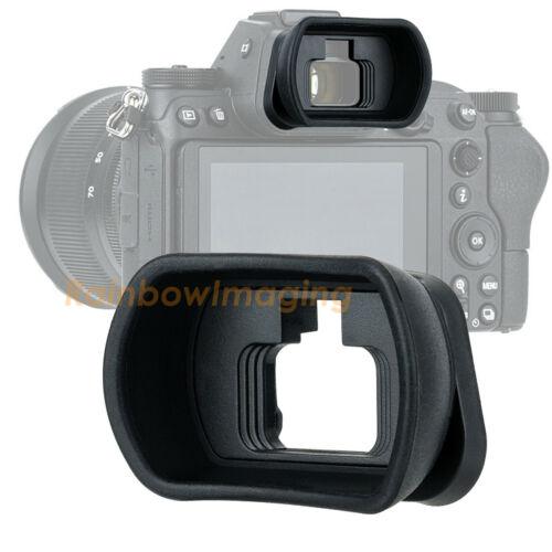 Kiwifotos Long Large TPU Silica Gel Eyecup Eyepiece for Nikon Z6II Z7II as DK-29