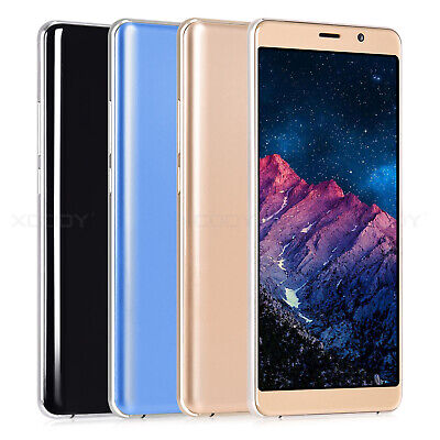 Android Phone - New Unlocked 6 Inch  Android Mobile Smart Phone Quad Core Dual SIM WiFi GPS 2021
