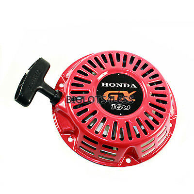 STARTER RECOIL PULL START FOR HONDA GX160 GX200 5.5HP 6.5HP GENERATOR ENGINE A