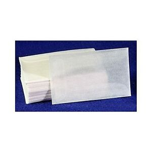 100-count-Glassine-Envelopes-4-1-2-ACID-FREE-size-3-1-8-x-5-1-16-NEW