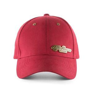 Alfa Romeo Vintage Heritage Baseball Cap Hat Red New Genuine 6002350380