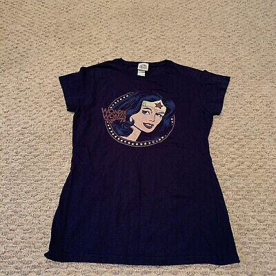Wonder Woman DC Comics T Shirt Top Tee Superhero Womens