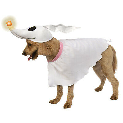 Zero Nightmare Before Christmas Halloween Costume (The Nightmare Before Christmas Zero Pet Dog Light-Up Halloween Costume)