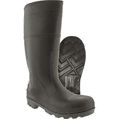 Itasca Men's 15in. PVC Rain Boots - Black, Size 11, Model# 6847012