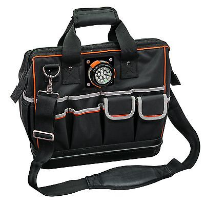 Klein Tools 55431 Tradesman Pro Organizer Lighted LED Tool Bag