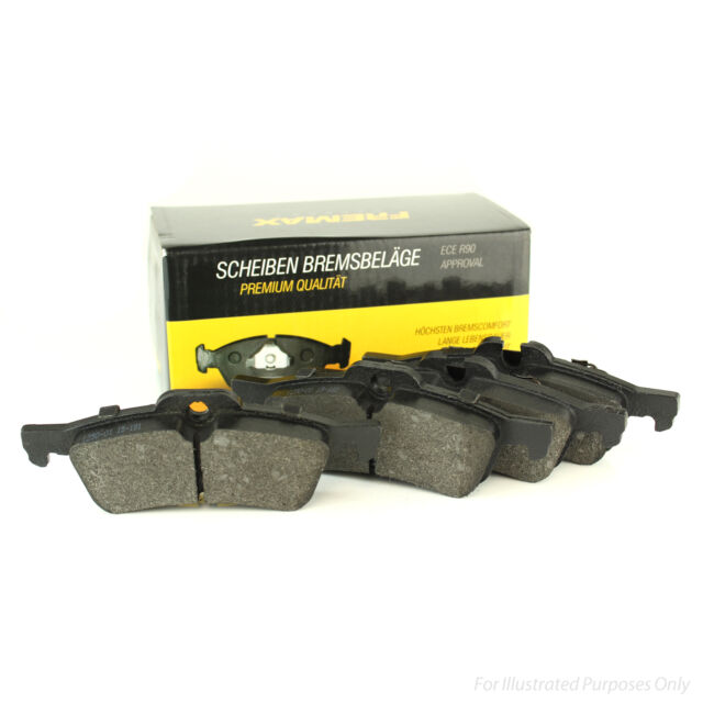 19mm Thick 50.8mm Tall Fremax Front Brake Pads Genuine OE Quality Service Set