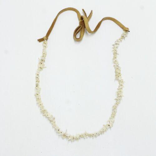 Rattlesnake Small Vertebrae Necklace  #70N Mountain Man Necklace