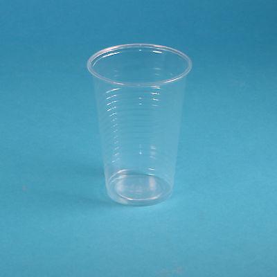 3000 Plastikbecher Einweg Trinkbecher Colabecher PP 0,2l 200ml klar transparent