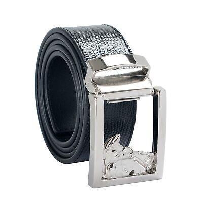 Versace Collection 100% Leather Black Men's Belt Sz 36 38 40 42 44