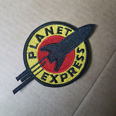 Halloween Express Logo (Futurama Planet Express Logo embroidered Patch 4 1/2 inches)