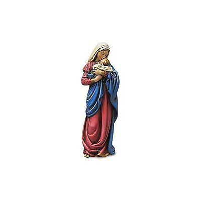 Religious Gifts Mary Mothers Kiss Figurine Statue Baby Jesus Catholic Christi...