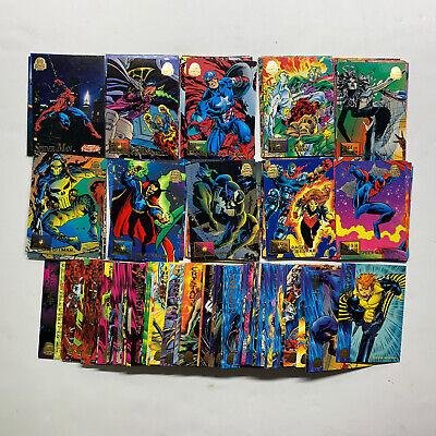 1994 Marvel Universe Set 1-200 Missing #127 #141 Freeze-Frames 9-Block Battles