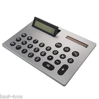 XXL Taschenrechner XL Tischrechner quer A4-Format 21 x 30 cm Bürorechner Gadget Gadget Tasche