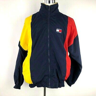 Vintage Tommy Hilfiger Mens Jacket Color Block Size Large