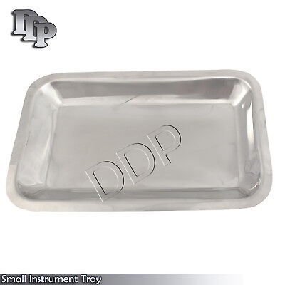 Small Instrument Tray Stainless Tattoopiercing Medical 10x6x34