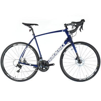 2017 DIAMONDBACK CENTURY 4 Carbon Road Bike HED 105 // 56cm // Navy Blue