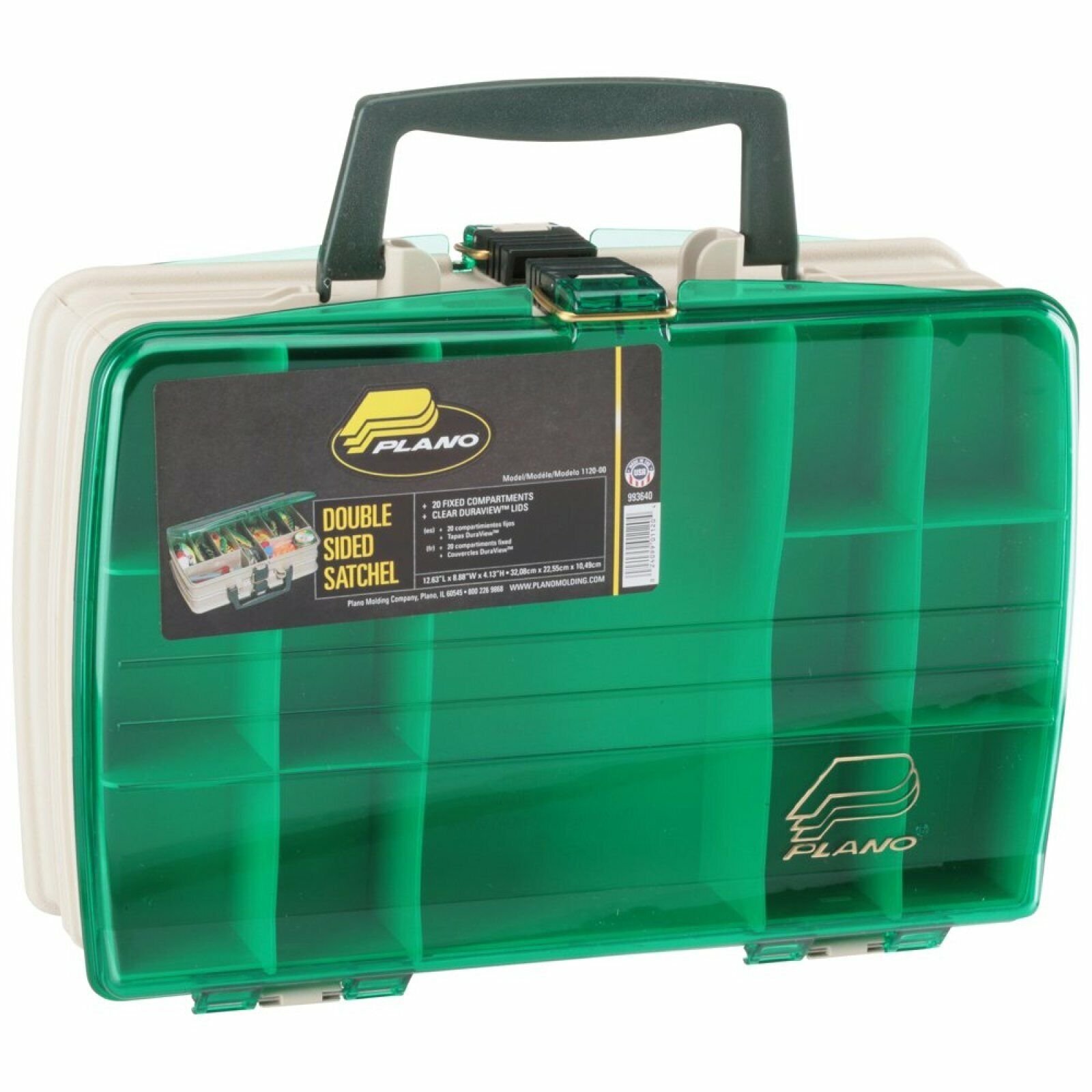 Tackle Box Utility Bag Fly Fishing Satchel With One FREE 3700 Tray Organizer