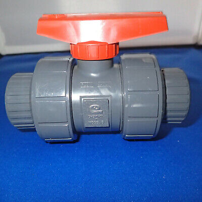 NPT Threaded 2PC Ball Valve 11//2 Stainless Steel 304 with Blue Vinyl Handle Cover