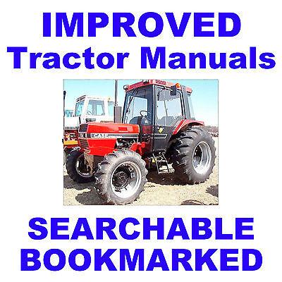 Ih International Case 885 685 585 485 385 Diesel Tractor Service Repair Manual