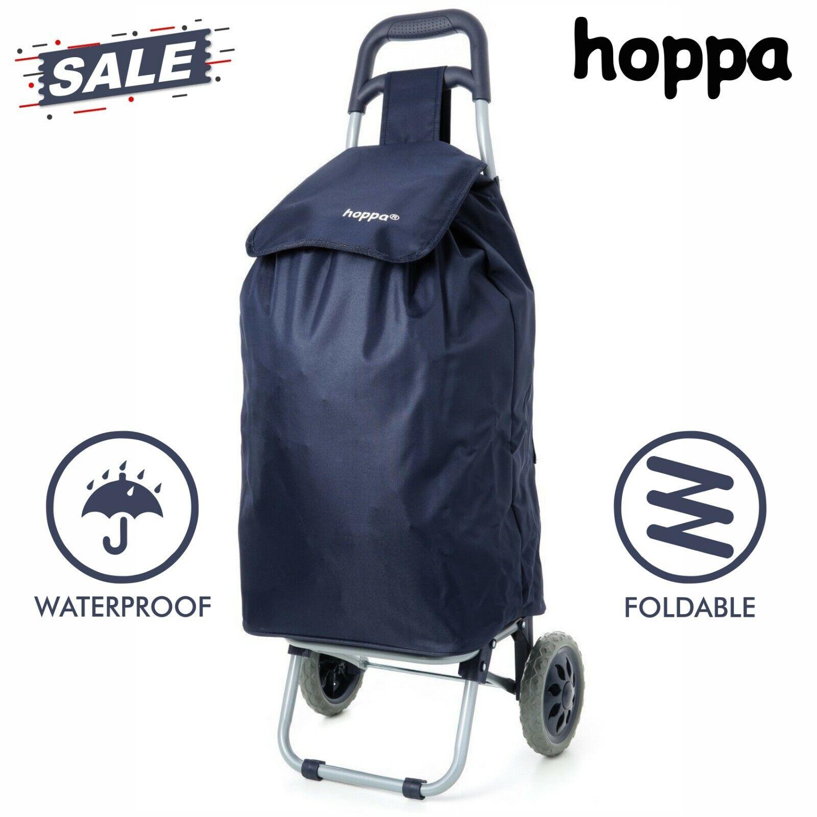 60 L Heavy Duty Shopping Sac à roulettes panier pliable Push Cart Mobilité NEUF 4 Roue