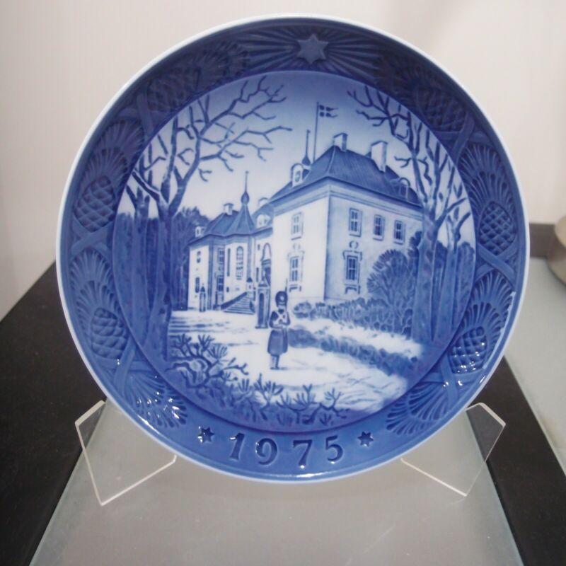 Royal Copenhagen Christmas Plate 1975