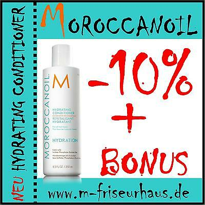(€9,72/100ml) -10% MOROCCANOIL Hydrating Feuchtigkeits Conditioner 250ml + BONUS - Feuchtigkeit Hydrating Conditioner
