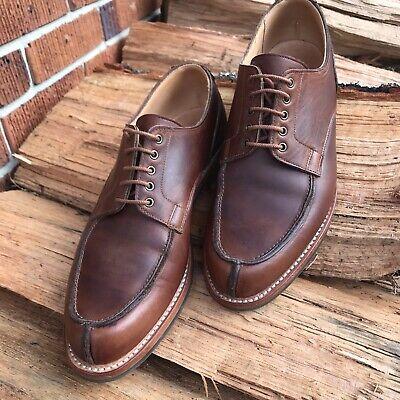 Crockett & Jones Wexford Men's Brown Derby Dress Shoes Size 7 E.