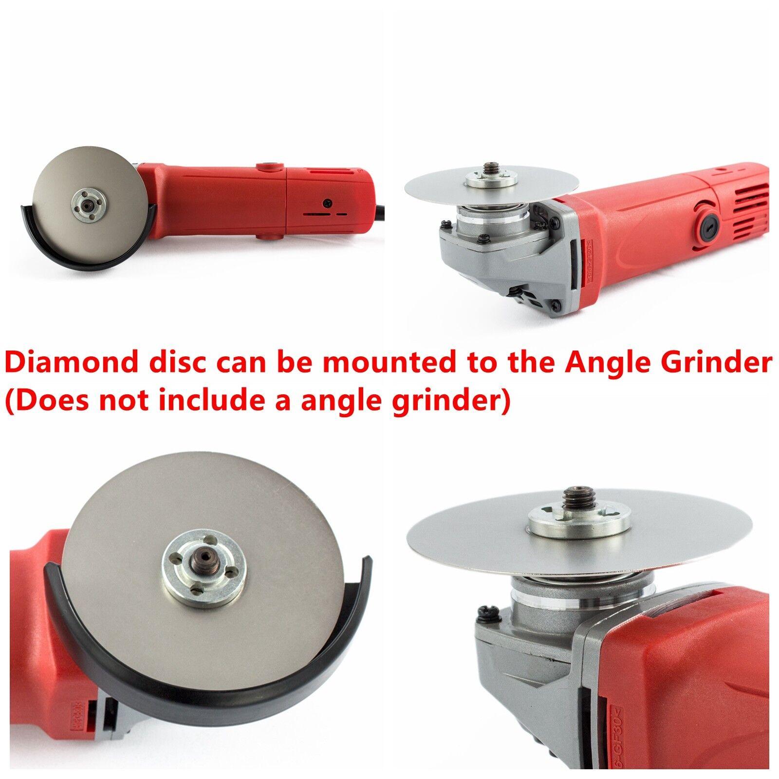 """как выглядит 4"""" inch Grit 3000 Diamond Grinding Disc Wheels Super Fine Coated Flat Lap Disk фото"""