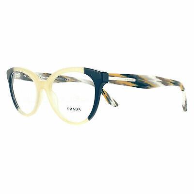 Prada Glasses Frames PR05UV VYP1O1 Blue Yellow 52mm Women's Optical Frame (Prada Glasses Frames Women)