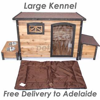 Puppy Dog Wooden Kennel Extra Large Outdoor Pet Timber Wood House