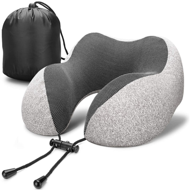 Memory Foam Rebound U Shaped Travel Pillow Car Cushion Neck Support Head Rest US