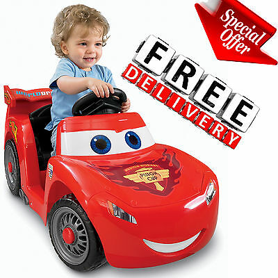 Battery Powered Car For Kids Ride On Toy 6V Electric Disney Pixar Vehicle