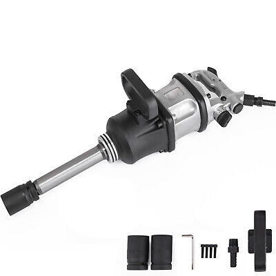 2800 Ft.lbs Air Impact Wrench 1 Drive Pneumatic Wrench Gun 8 Extended Anvil