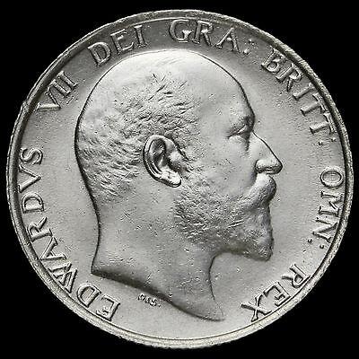 1907 Edward VII Silver Shilling – EF