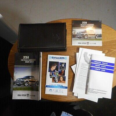 2014 Dodge Ram Truck 1500 2500 3500 Owners Manual DVD w/Case 14