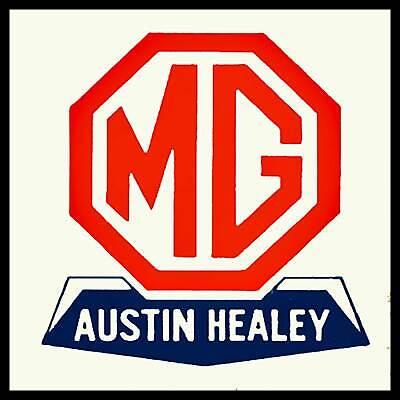 MG Austin Healy Fridge Magnet