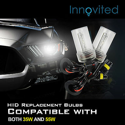 (Two 35W 55W Xenon HID Kit 's Replacement Light Bulbs H1 H4 H7 H10 H11 9005 9006)