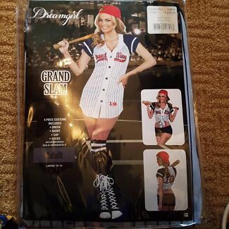 Dream Girl Baseball Dress Up Costume