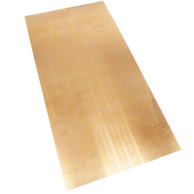 Us Stock 0.3 X 100 X 200mm C17200 Beryllium Bronze Thin Sheet Foil Plate