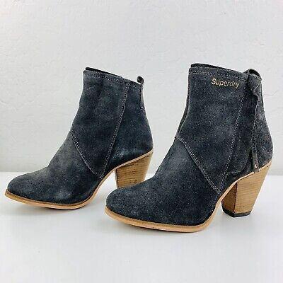 SUPERDRY Dillanger Ankle Boots Size 7