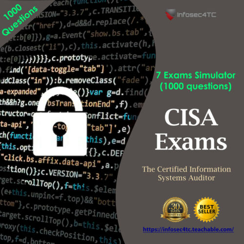 ISACA CISA Certification - Latest Exams 2020 (800 questions)