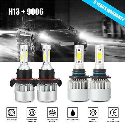 Combo H13+9006 LED Headlight Fog Light for Dodge Ram 1500 2500 3500 06-09 3800W