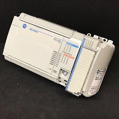 Allen Bradley 1764-24bwa B Lrp C Frn 11 1769-iq16 Ecr Micrologix 1500 Controller