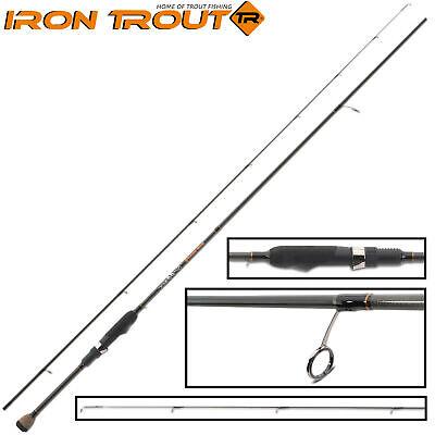 1.8m UL Spoonrute teilig 0.8-5 g Spinnrute ul Light Rute Angel Forelle Barsch