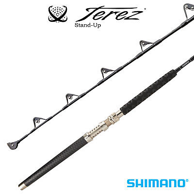 "Shimano Terez Stand-Up Straight Butt Trolling Rod TZCSTH2SSBLK 5'6"" Heavy 2pc"