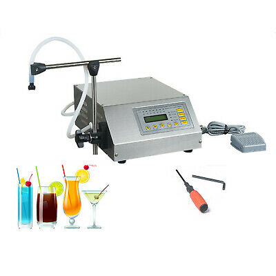 Automatic Digital Liquid Filling Filler Machine Microcomputer Control 2-3500ml