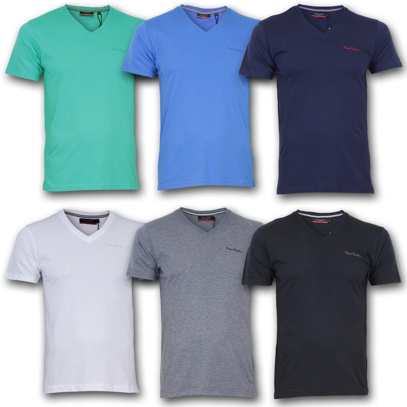 6d85d8cf05cc8d Pierre Cardin Shirt TShirt T-Shirt V-Ausschnitt Herren S M L XL 2XL 3XL 4XL