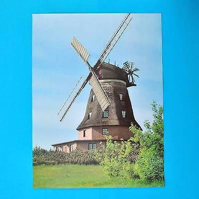 DDR Plakat Poster 755 | Windmühle Banzkow | 55 x 40 cm Original DEWAG Schw. 1988