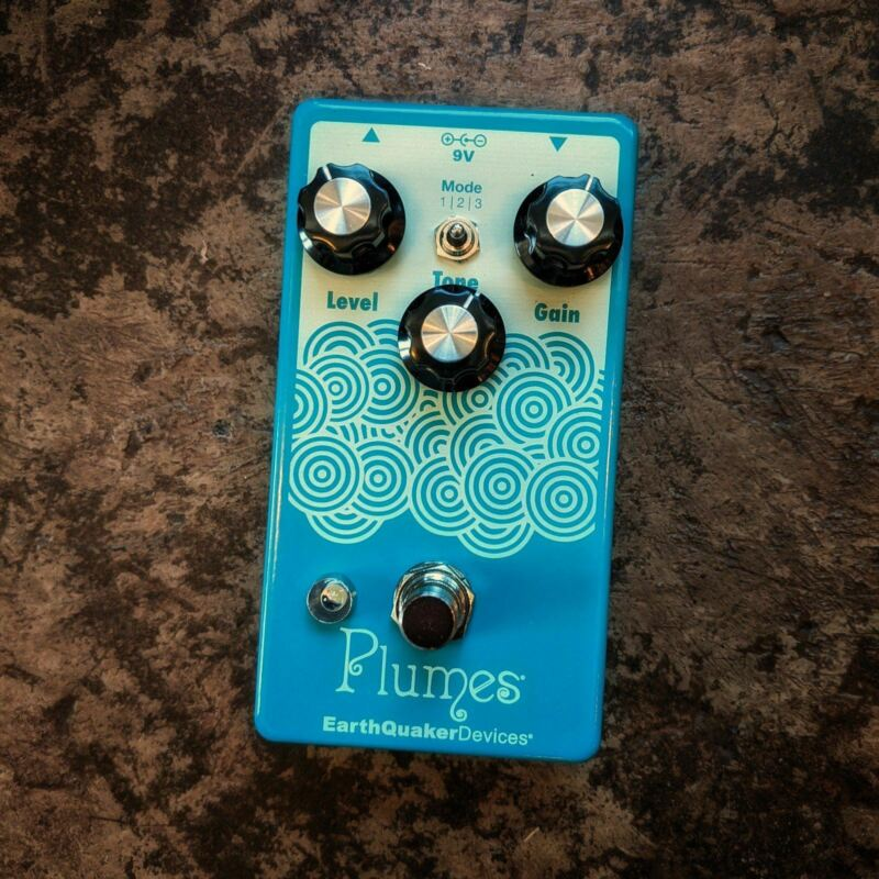 Earthquaker Devices Plumes Small Signal Shredder in TSP Exclusive Light Yellow a